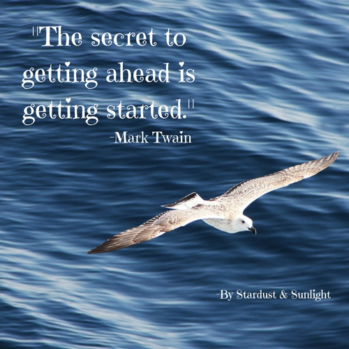Day 49_The secret to getting ahead is getting started._
